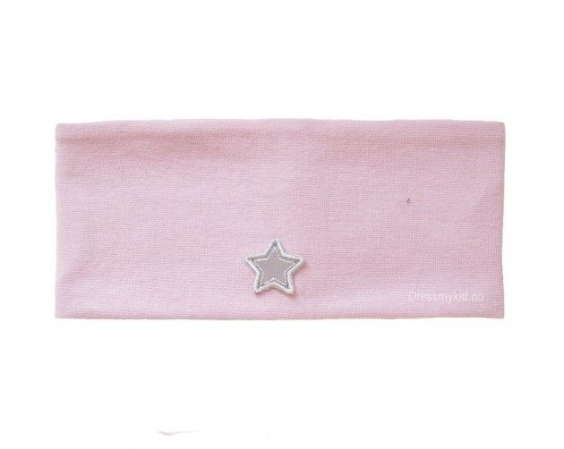 edc38e38ba6 Kivat pannebånd, støvrosa med refleks stjerne   DressMyKid.no - Barn og  baby -