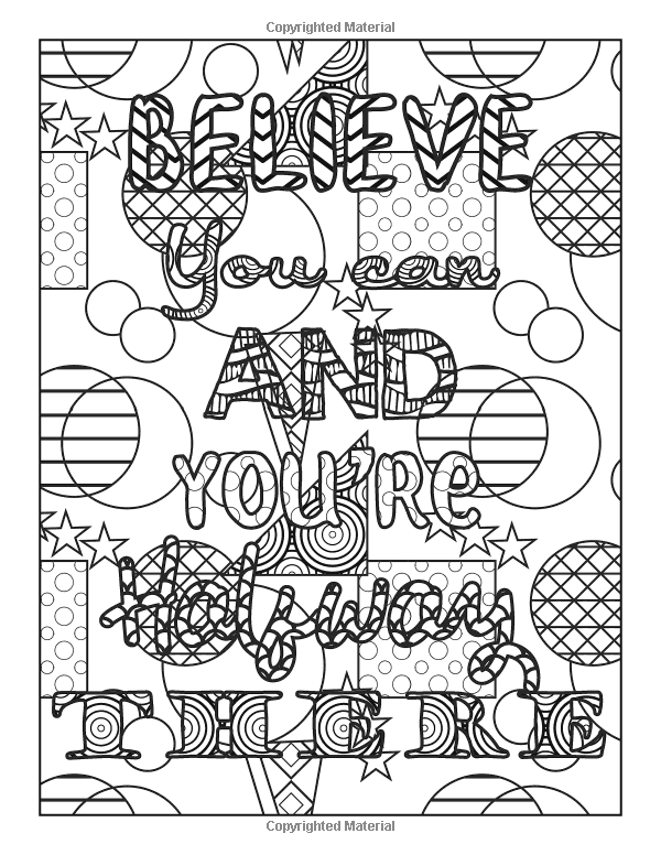 Amazon Com Motivational Coloring Book A Motivational Coloring Book For Adults 9781719849883 G Quote Coloring Pages Coloring Books Printable Coloring Pages