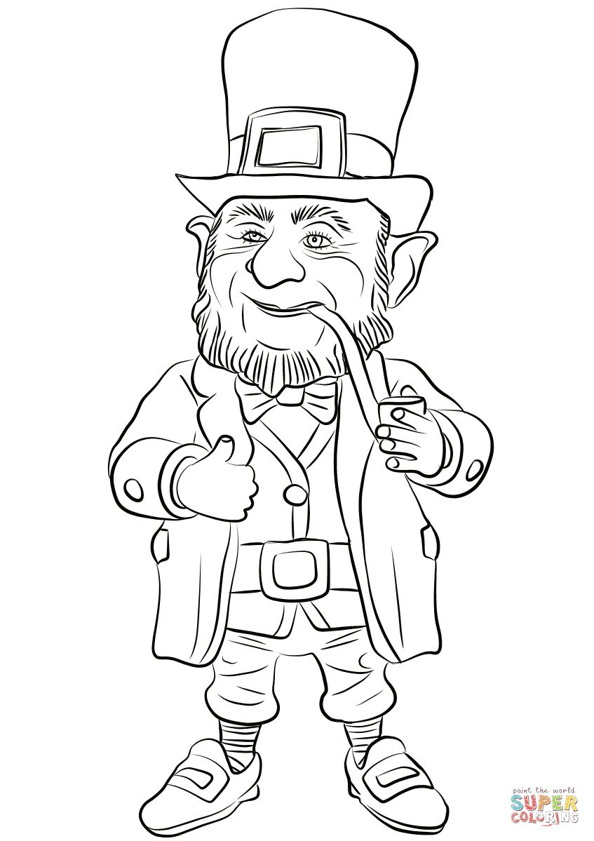 21 Awesome Picture Of Leprechaun Coloring Pages Entitlementtrap Com Coloring Pages Leprechaun Pictures Printable Coloring Pages