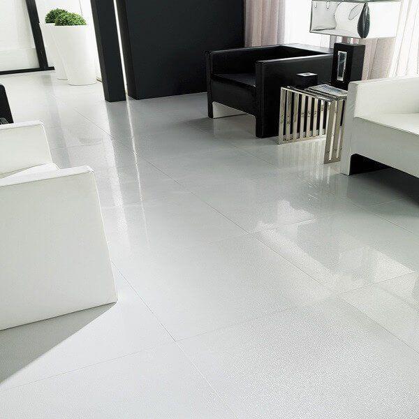 Tibet Large White Floor Tiles In Striking Home White Tile Floor Floor Tile Design Beautiful Tile Floor