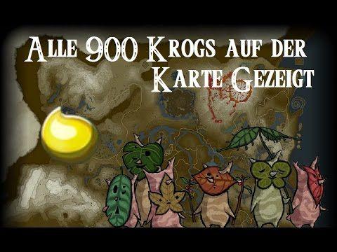 alle krogs karte Spoiler] alle 900 Krogs auf der map gezeigt aus The Legend of