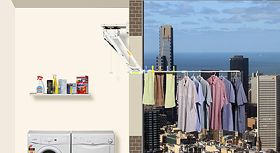 Clothesline Move Awesome Daytek Hidry Clotheslinelight And Easy To Move Washing Outside Inspiration Design