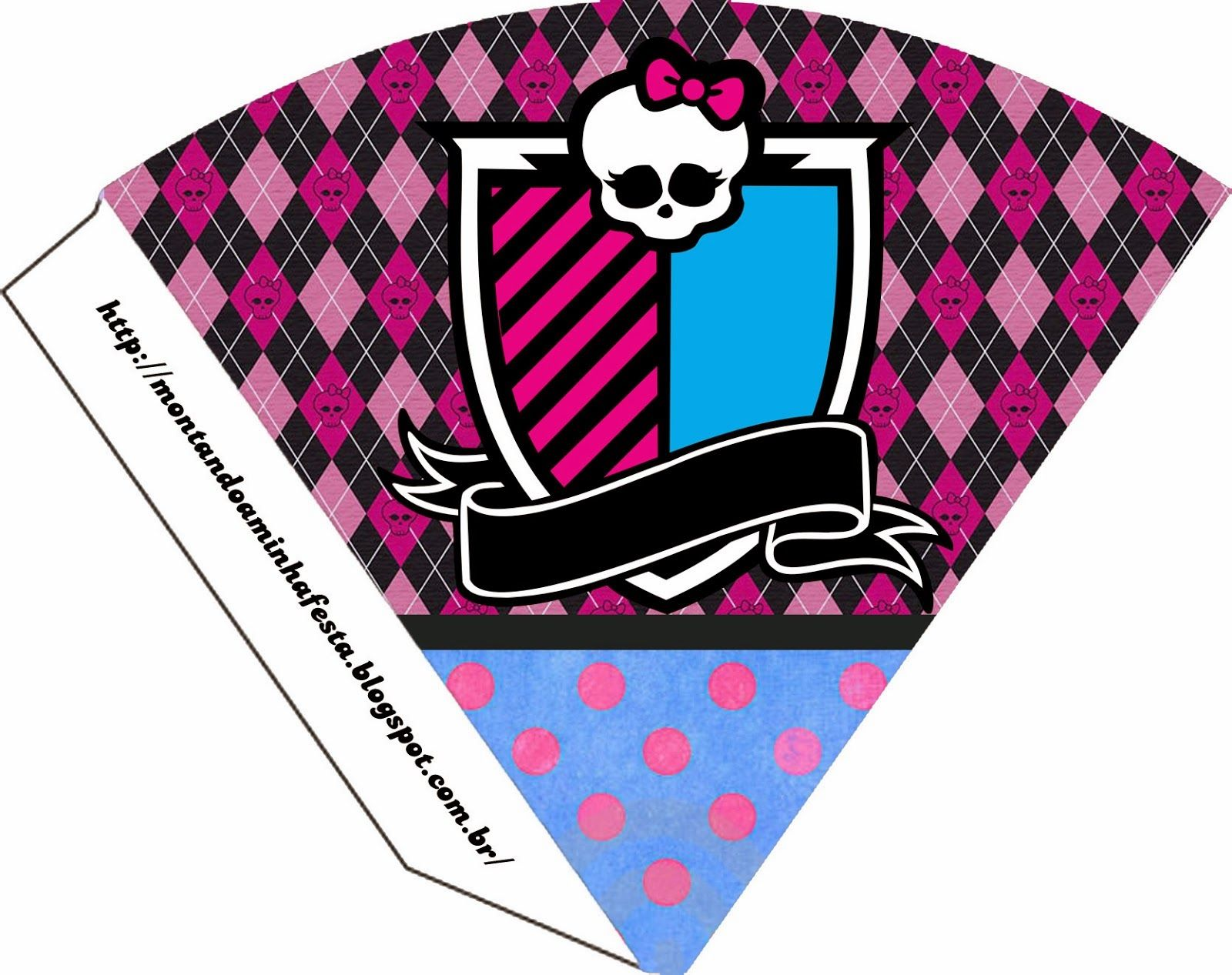Monster High: Invitations and Party Free Printables. | Monster High ...