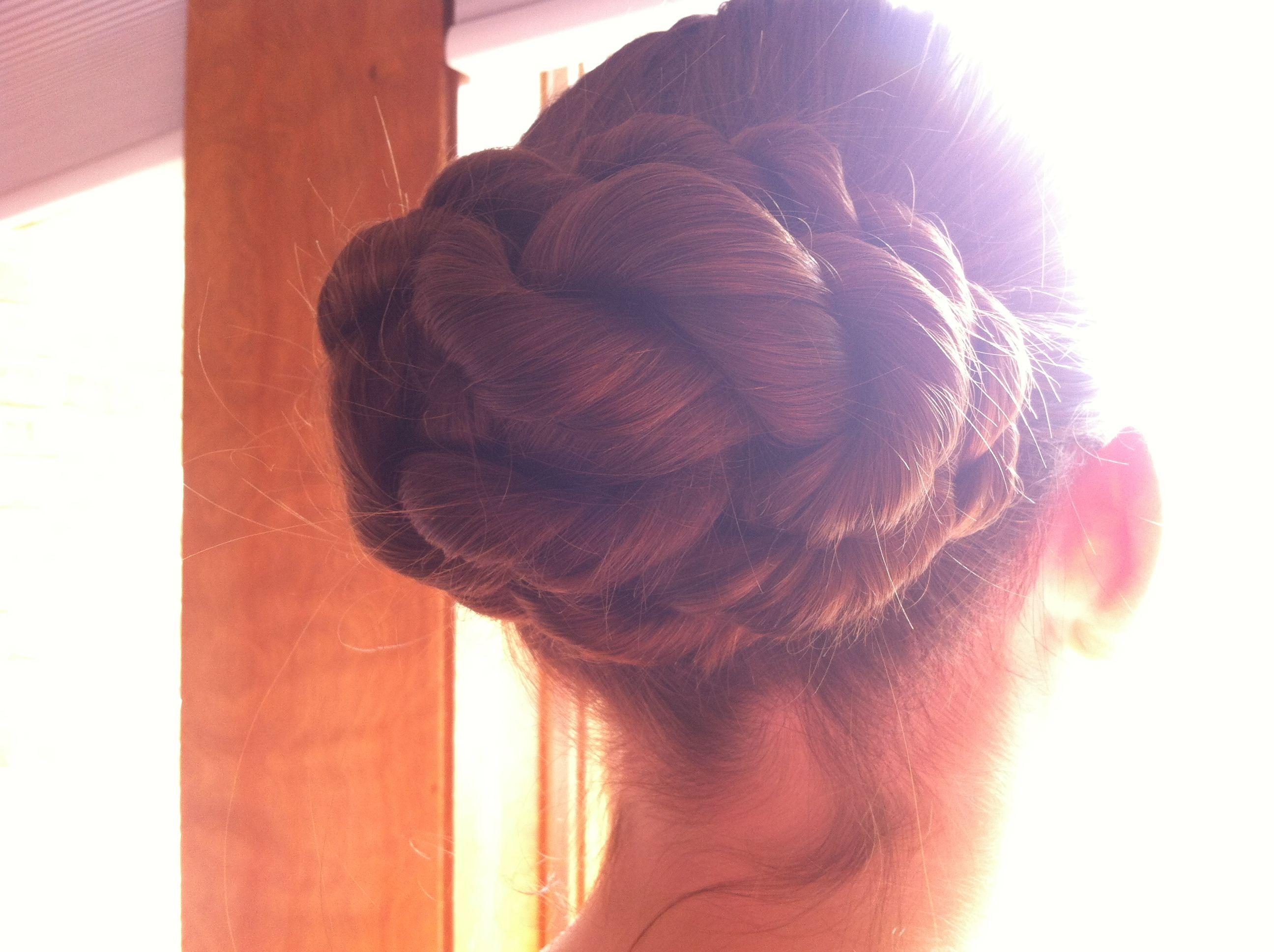 Did @Rachael Foster 's hair