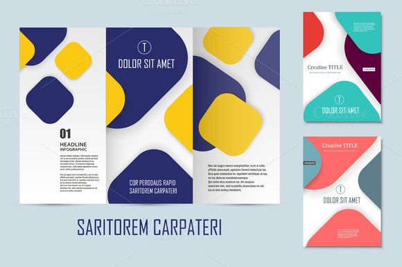 Flyer material design Vol3 by Haisonok on @creativework247 - flyers and brochures templates