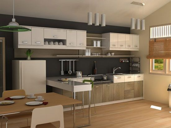 Kitchen Cabinets For Small Spaces Modern Kitchen Furniture Small Modern Kitchens Modern Kitchen
