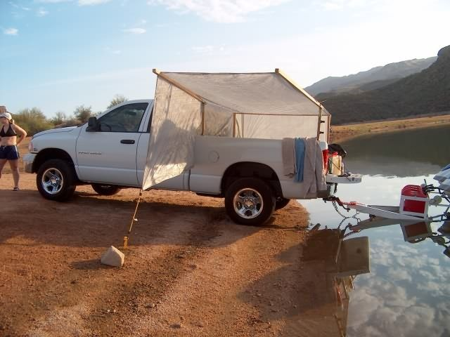 Image Result For Tarp Tent On Truck
