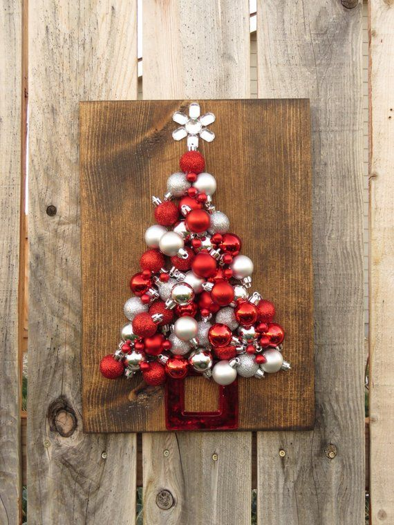 Naturals ON SALE NOW! Christmas Tree Silhouette Made