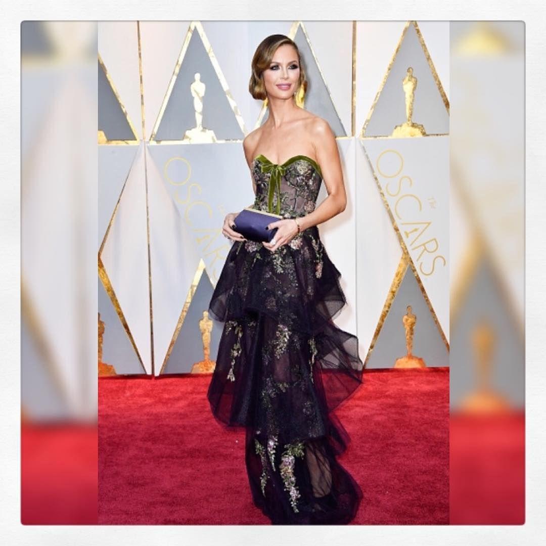 Georgina. X Our gorgeous #marchesagirl Georgina Chapman wearing #fw17marchesa to The 89th Academy Awards last night! #marchesa #oscars2017