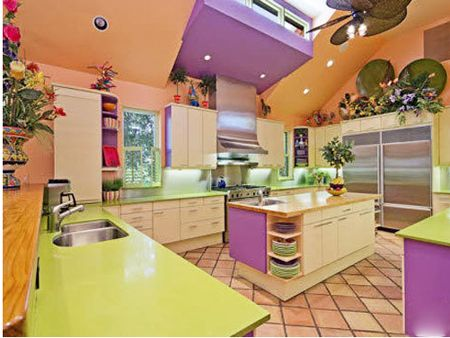 fun kitchen! Dream Home Pinterest Home, House and Kitchen colors