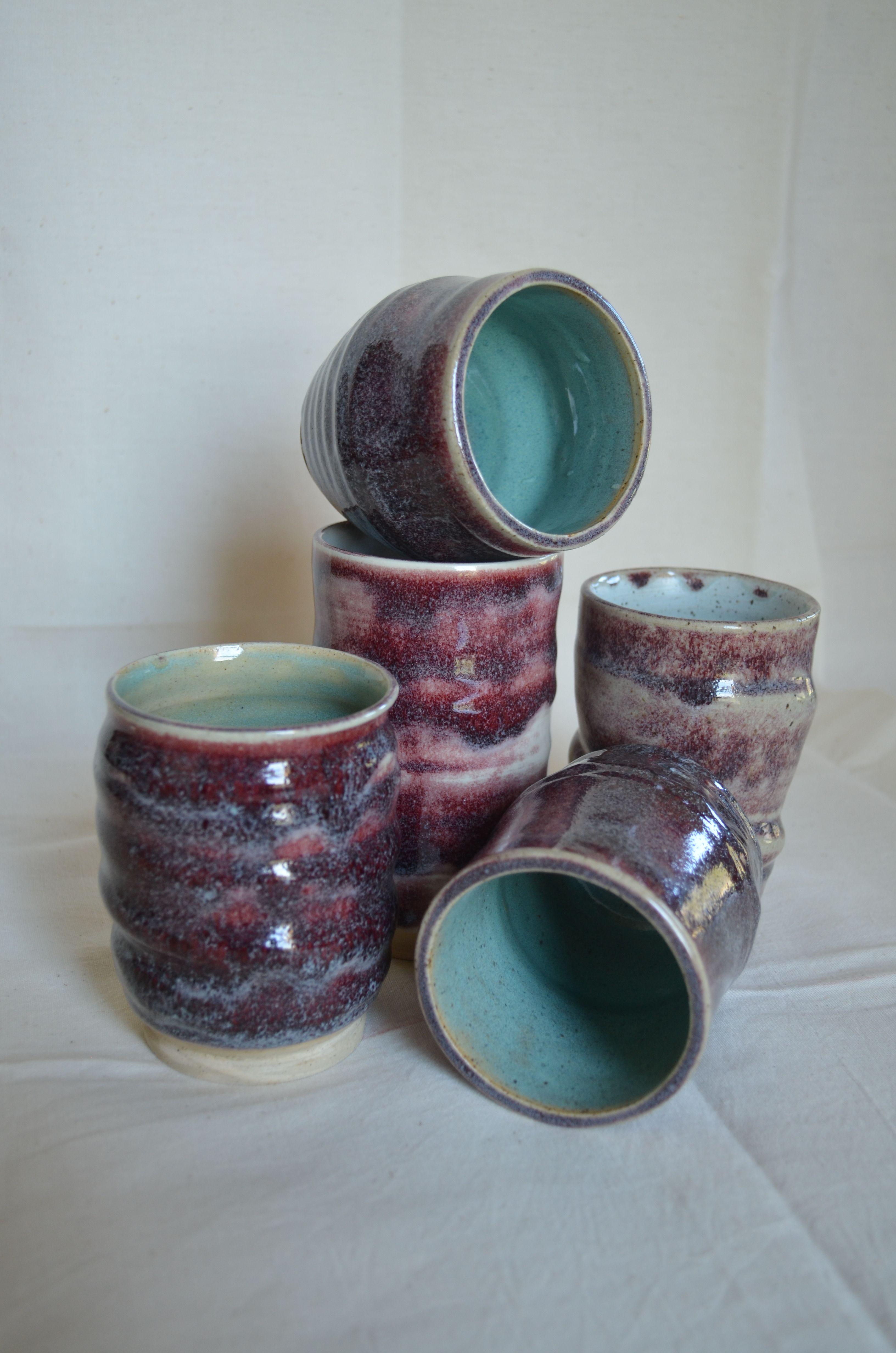 Pasceramics Coyote Glaze Snowy Plum In 2020 Glaze Clay Ceramics Clay