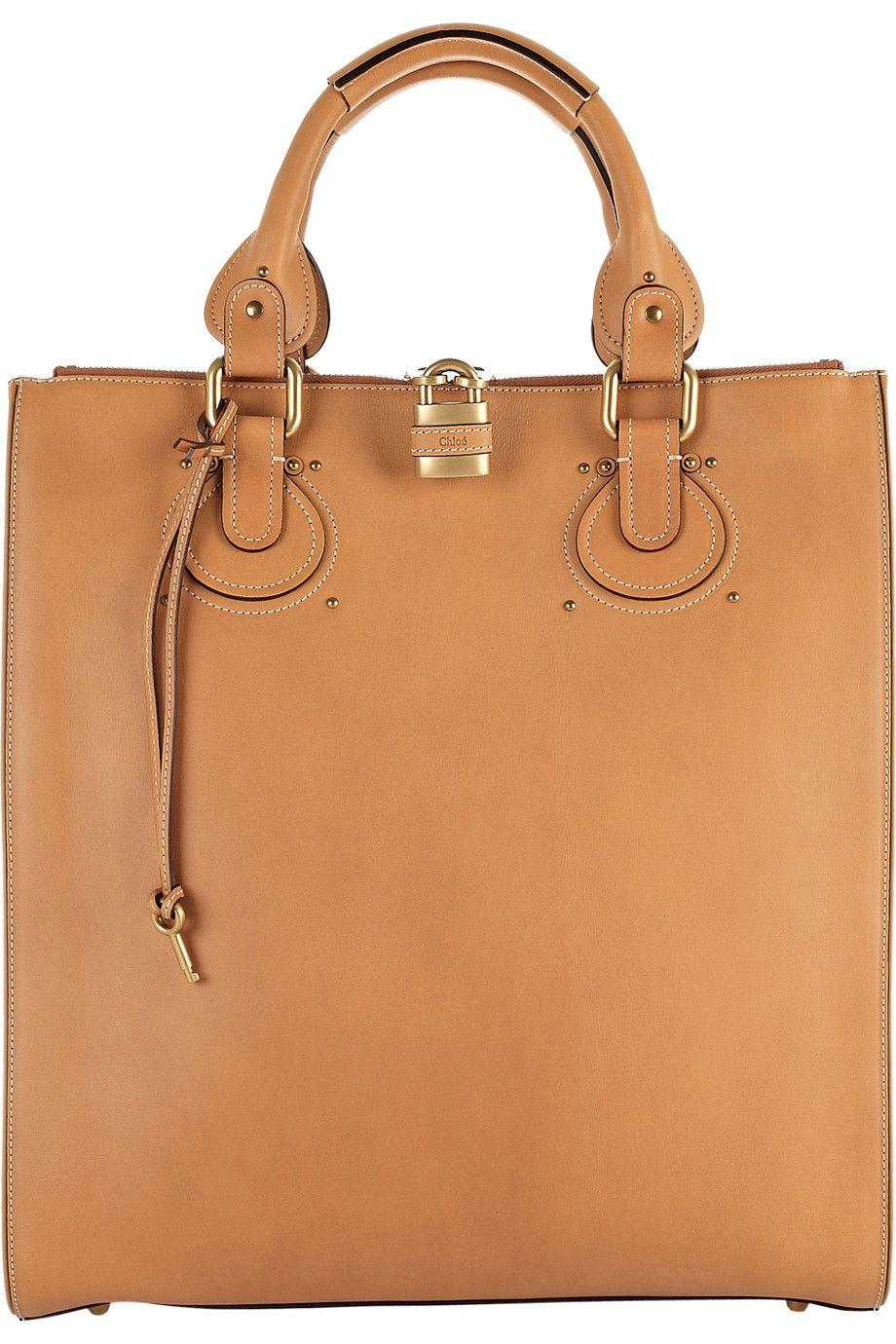 Chloé - Aurore leather tote