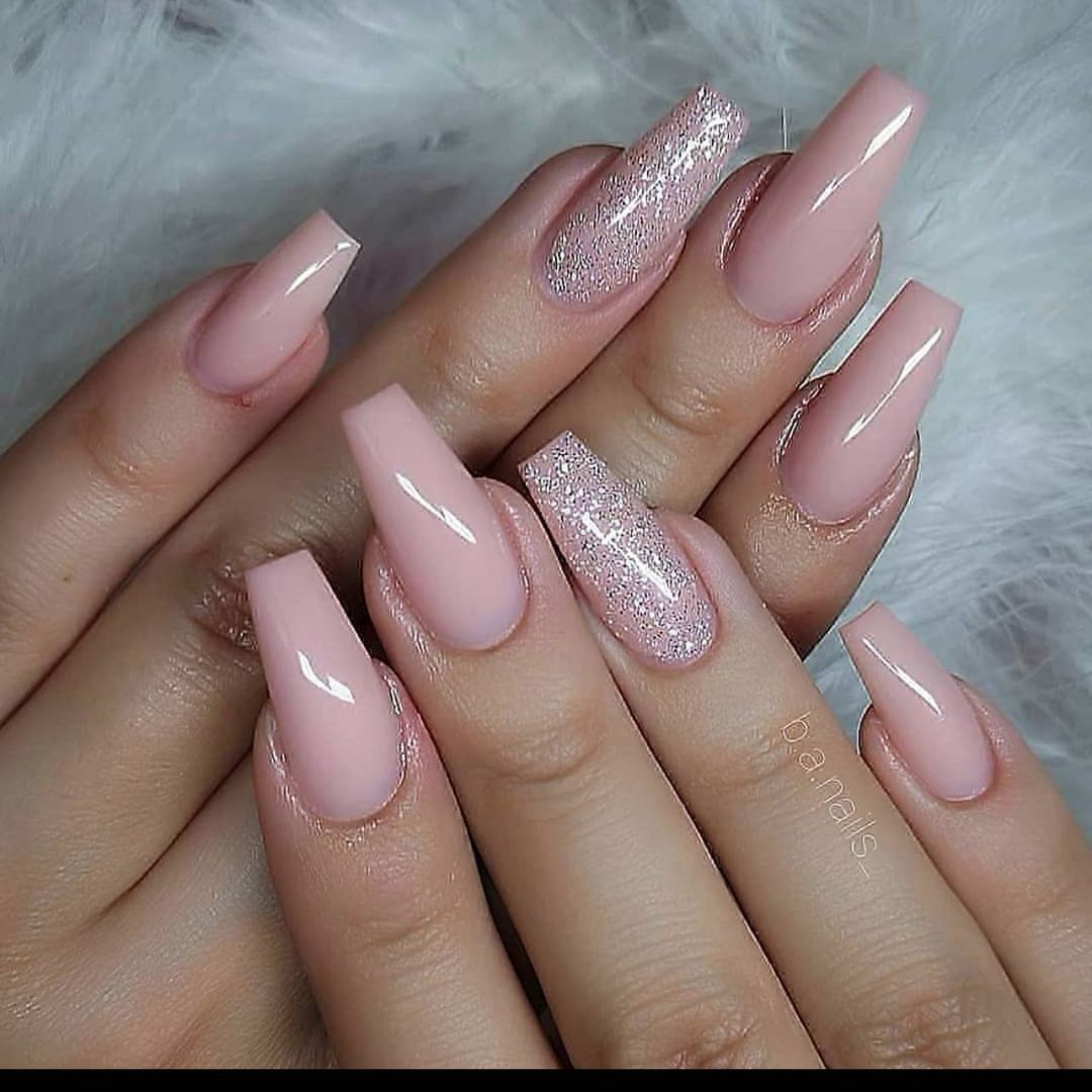 """Nails On Poiint on Instagram: """"Follow @nailsonpoiint  for your latest  Nail Inspiration  Credit: @b.a.nails_   #nails #coffinnails #nailsofinstagram #acrylicnails…"""""""