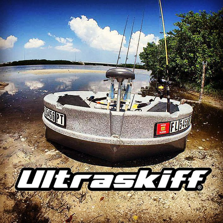 The ultimate portable round boat the ultraskiff 360 is for Round fishing boat