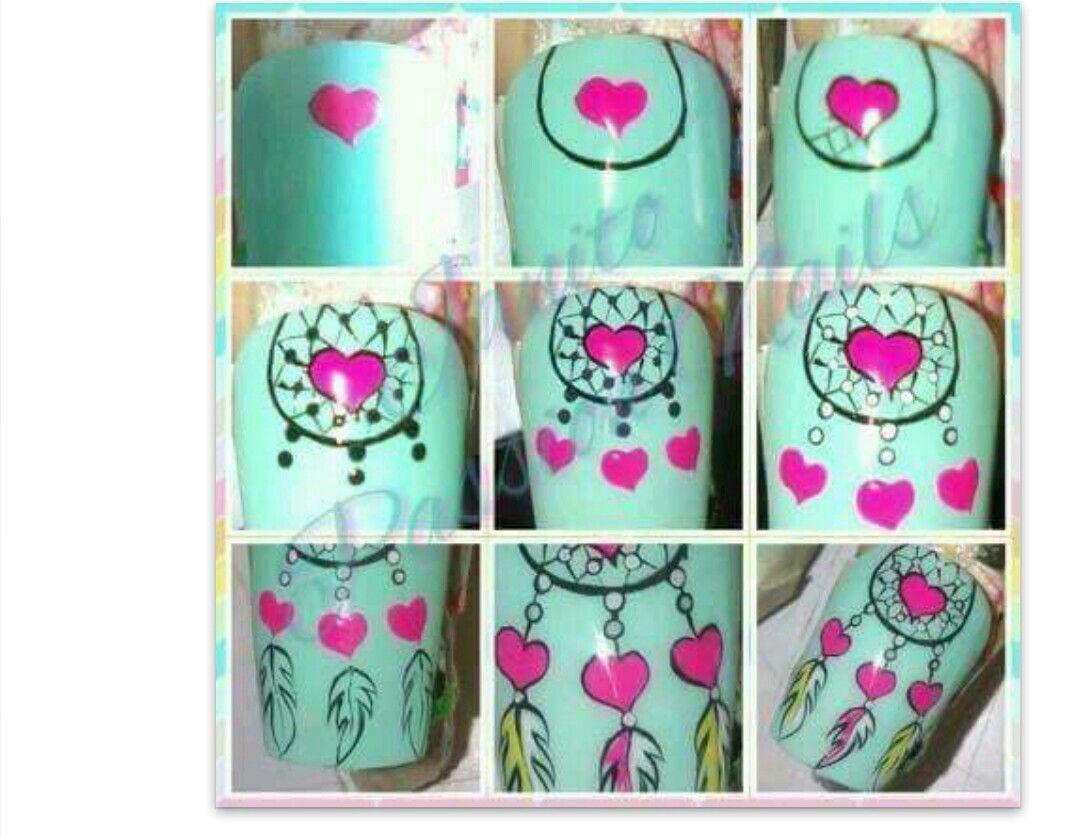 Pin de Nathalia en Diseños de uñas | Pinterest | Diseños de uñas y Arte