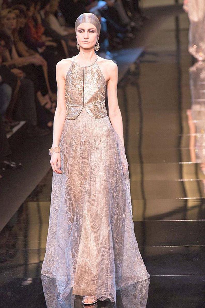 Armani : genèse d\'une robe