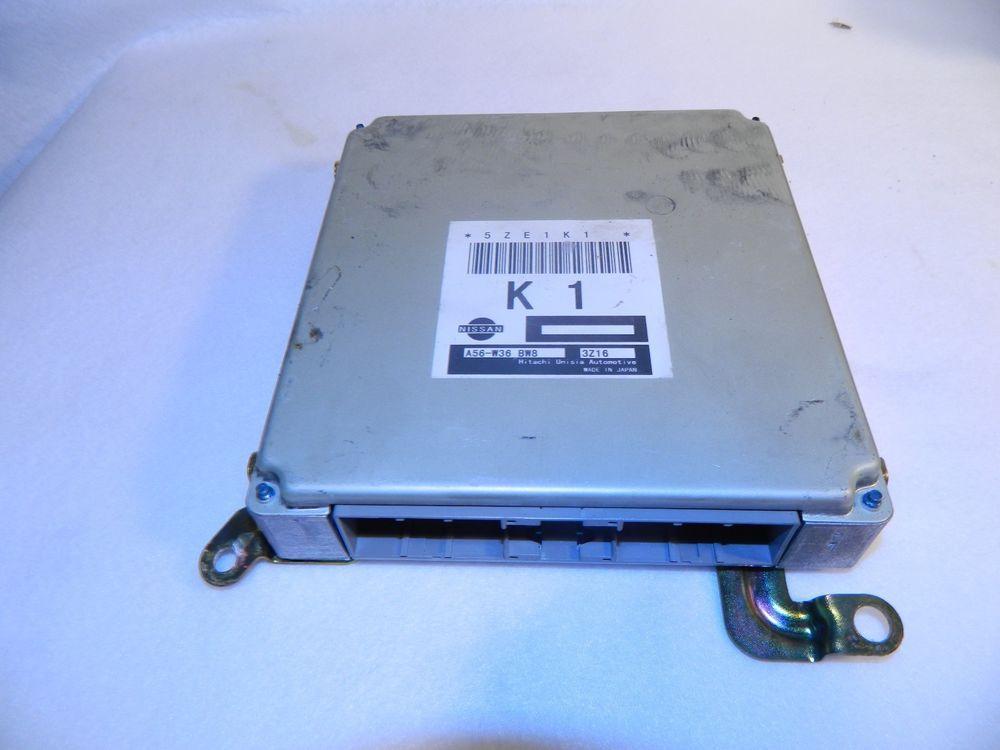 2002 Nissan Sentra A56 W36 Bw8 Engine Control Ecu Ecm Control Module Unit Nissan