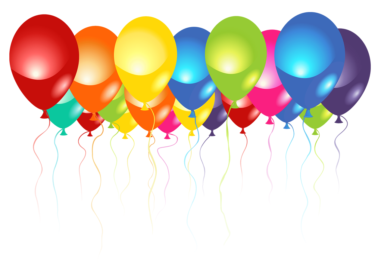 Pin By Rose Smith On Clipart Klipart Transparent Balloons Balloons Birthday Photo Frame