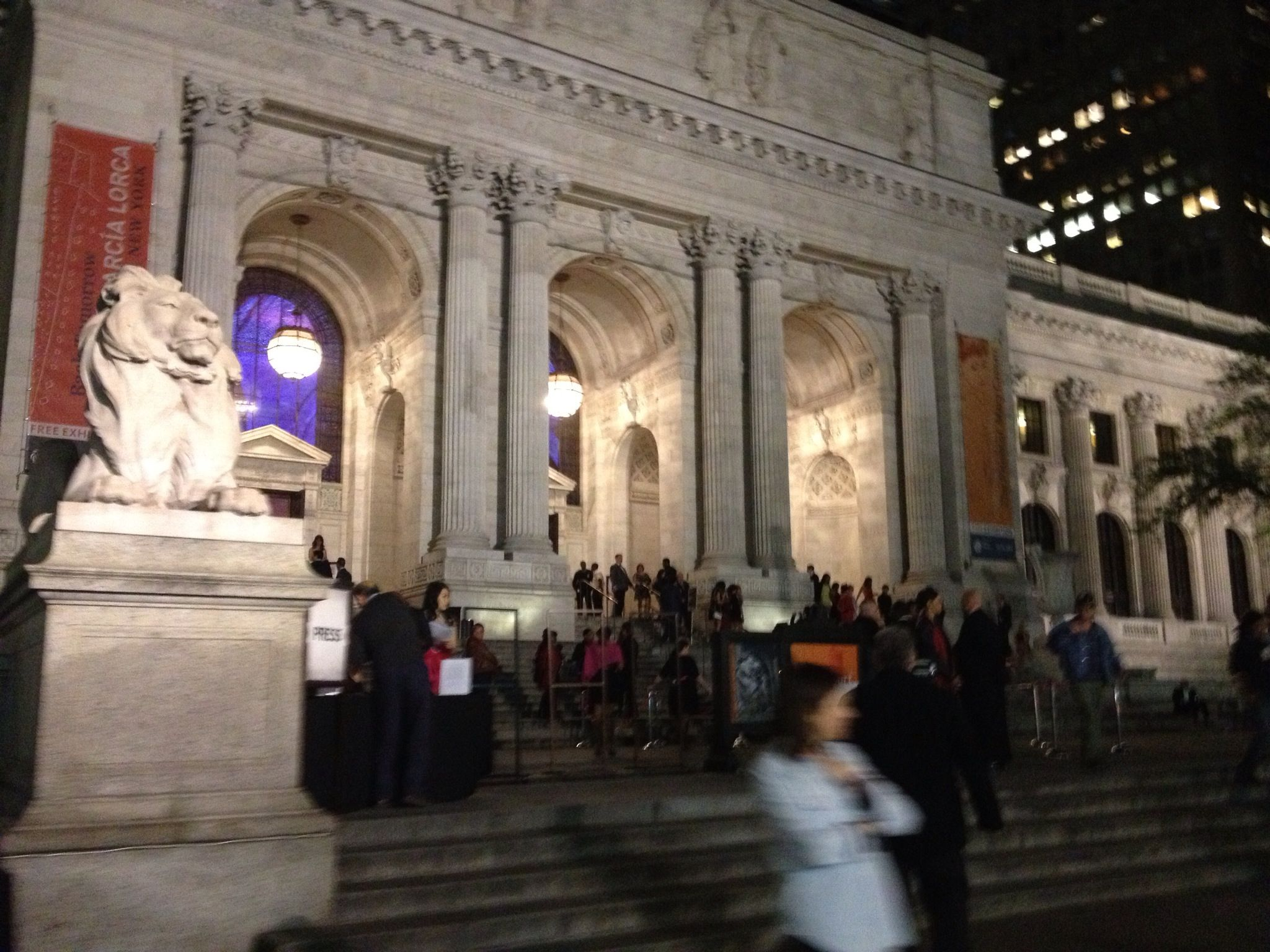 New York Public Library on Fifth Avenue