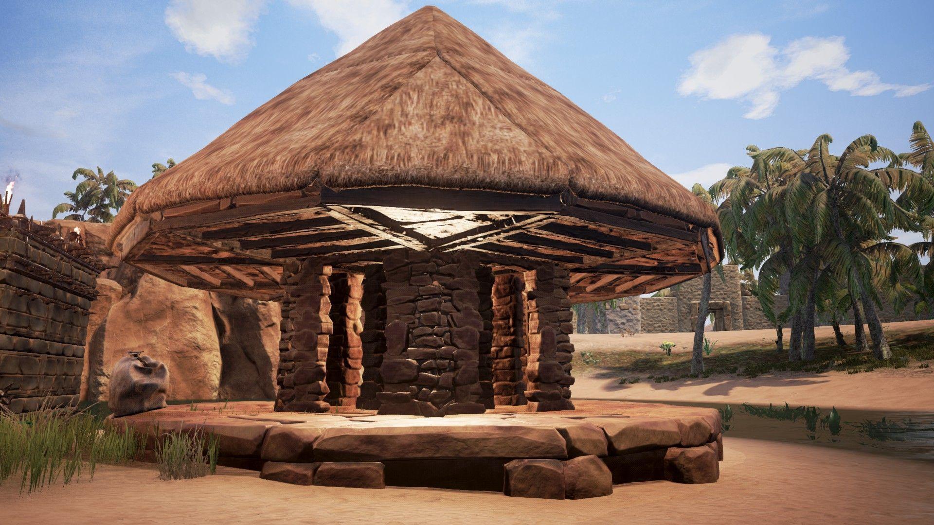 Conan Exiles How To Build The Roofs Conan Exiles Conan Conan The Barbarian