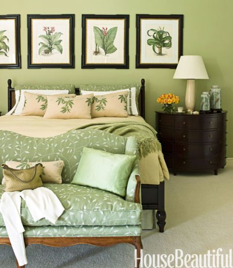 Bedroom Beach Art Bedroom Decorating Colors Ideas Art Decoration For Bedroom Bedroom Yellow Walls: Here's How To Make Green Actually Look Chic