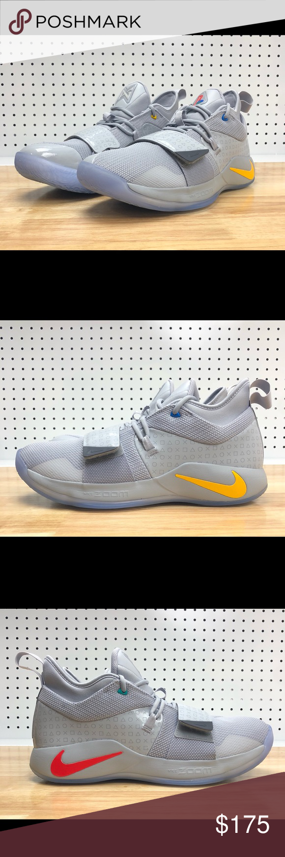 d73022f8db84 PlayStation x PG 2.5 Wolf Grey Paul George Shoes PlayStation x PG 2.5  Wolf  Grey