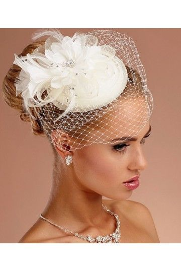 26+ Mariage coiffure chapeau inspiration