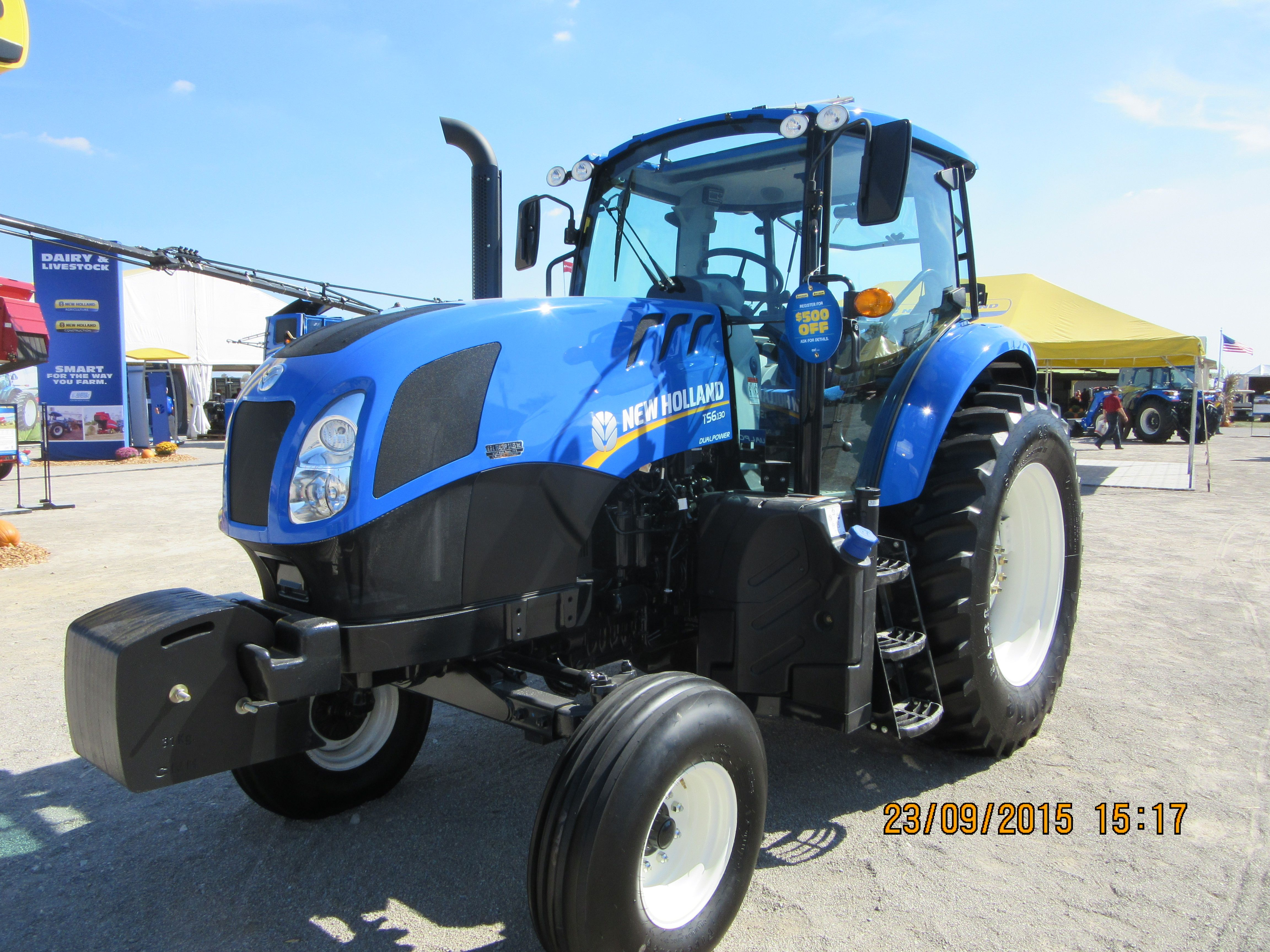 New Holland T6 130 New Holland Tractors Ford News