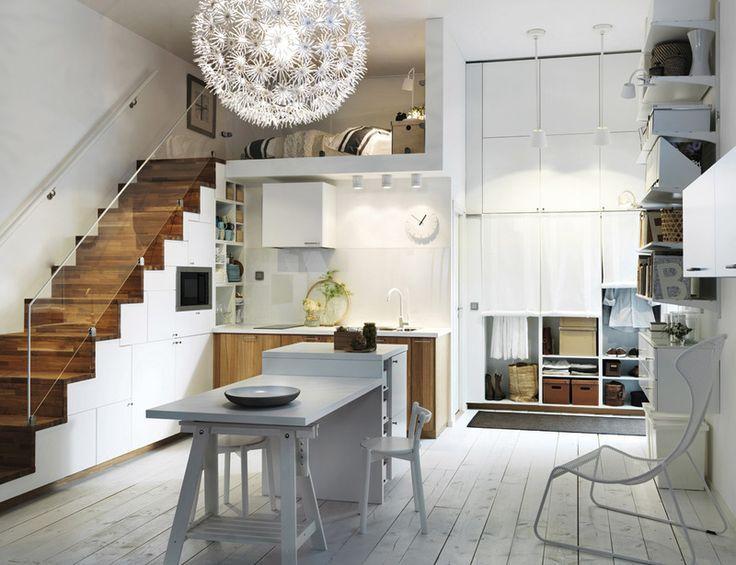 Cocina estilo Hipster. Linea 3 cocinas Madrid | Cocinas Pequeñas ...