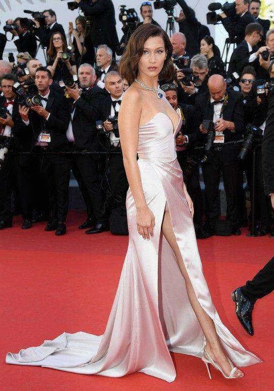 99af19b1573b8 Bella Hadid/Alexandre Vauthier (Cannes '17) | Celebrity Fashion in ...
