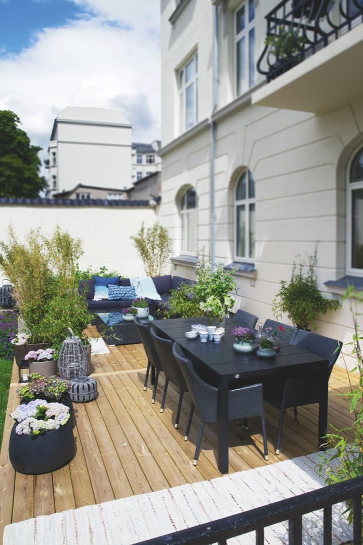 Hjemme hos louise og jes dorphpetersen terrasseideer