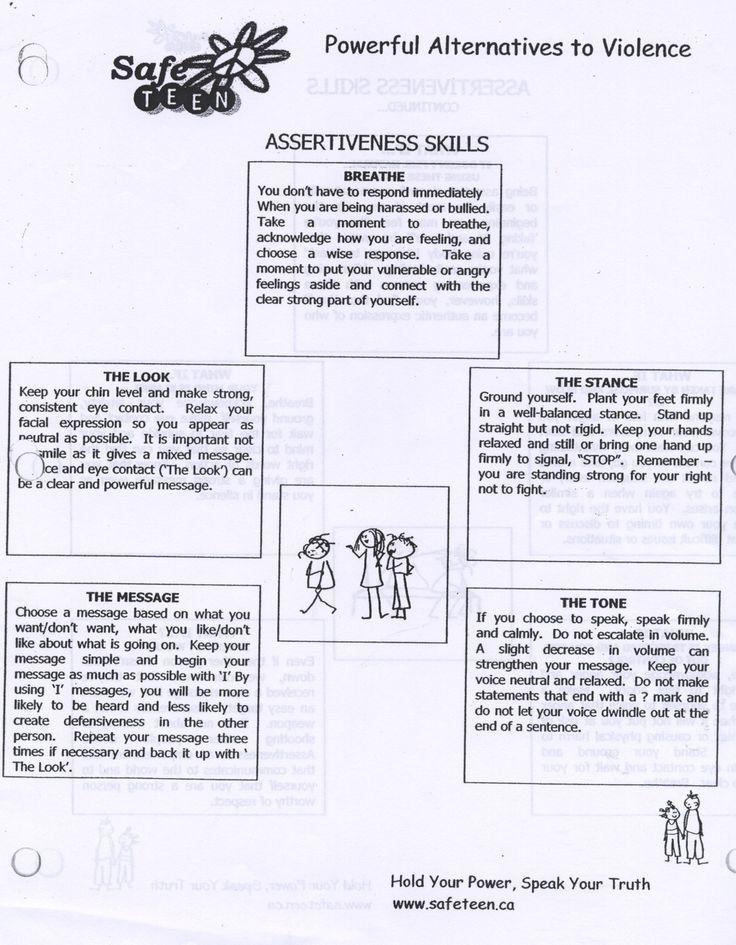 Psychology Psychology Psychology Assertiveness