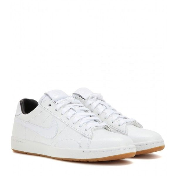 0dce12eb101c Nike Nike Tennis Classic Ultra Premium Leather Sneakers ( 130) ❤ liked on  Polyvore featuring shoes