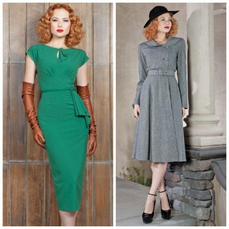 Vintage Kleider aus den verschiedenen Dekaden des 20.Jh ...