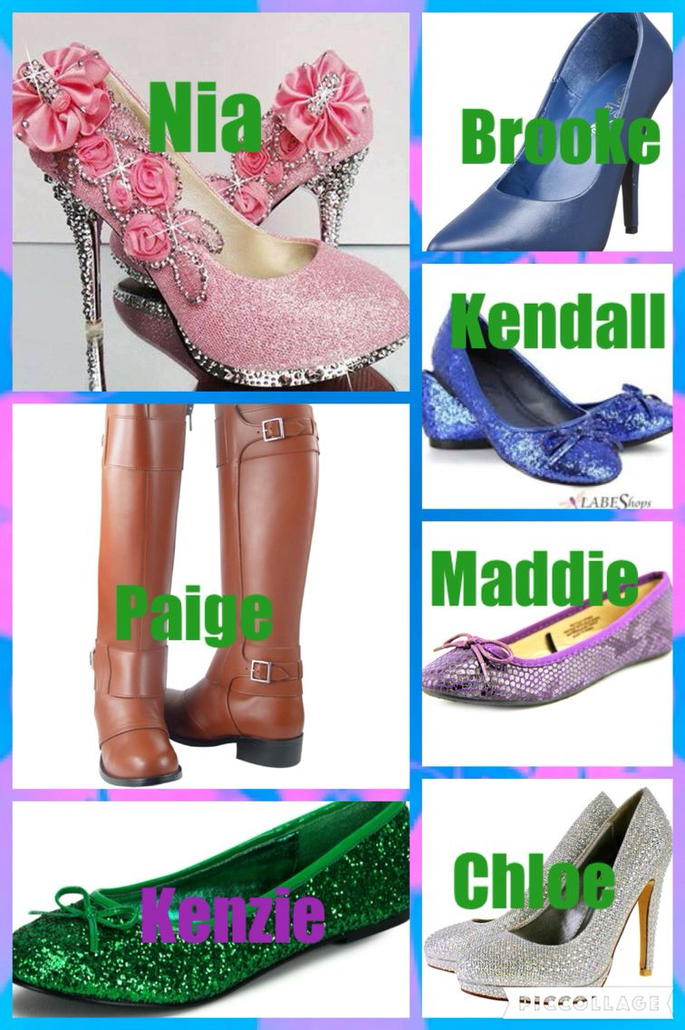 50da9109a3 Hey guys so I matched the girls and their fashion to their shoes. Which shoe  do you like the most