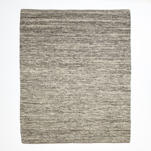 Sweater Wool Rug Charcoal West Elm With Images Modern Wool Rugs Rugs Modern Area Rugs