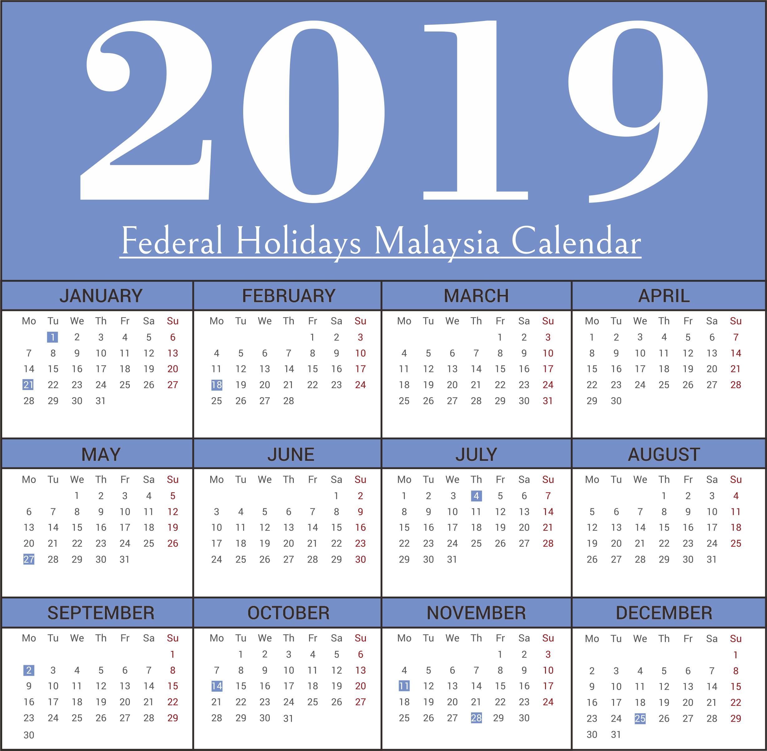 2019 New Zealand Holiday Calendar Icon Holiday calendar