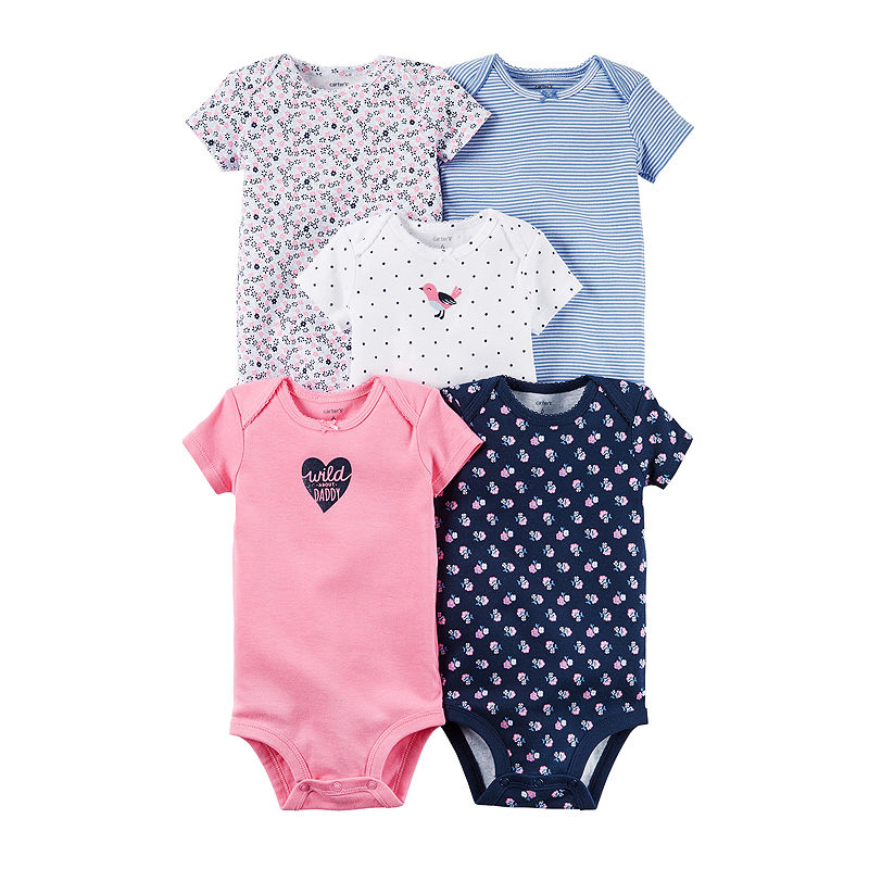 5a456cf4c Carter's 5-pk. Bodysuits - Baby Girls newborn-24m | Products ...