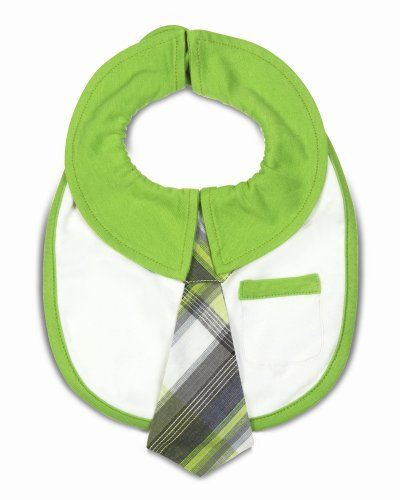 "Pavilion Gift Company Baby Bib, Grasshopper, 6"" -- You can get additional details at"