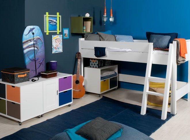Hoogslaper meubels reclameframes en accessoires van steigerbuis
