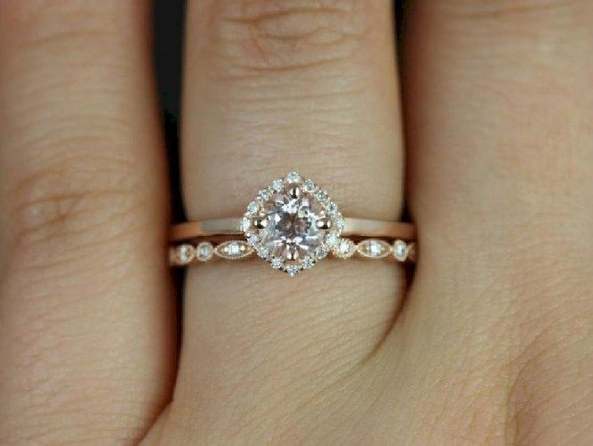 Simple engagement ring for every kind of women 15