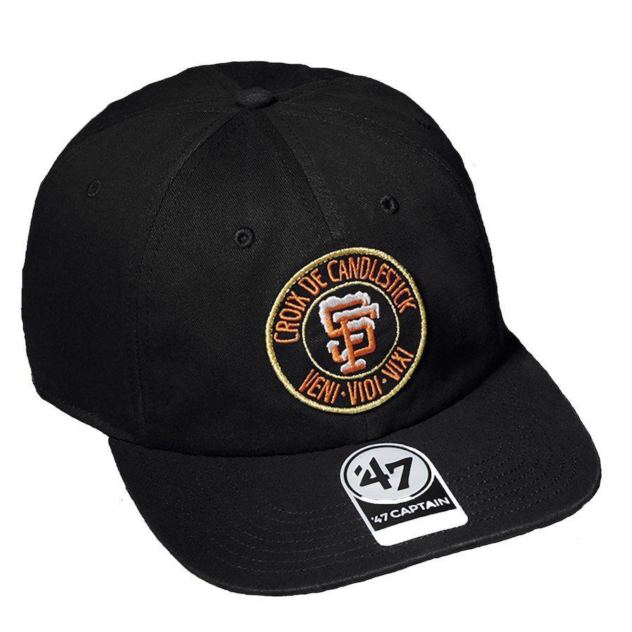 best sneakers c9ff5 ab23f Men s San Francisco Giants Black Thrasher Croix De Candlestick Snapback Hat,  Your Price   29.99