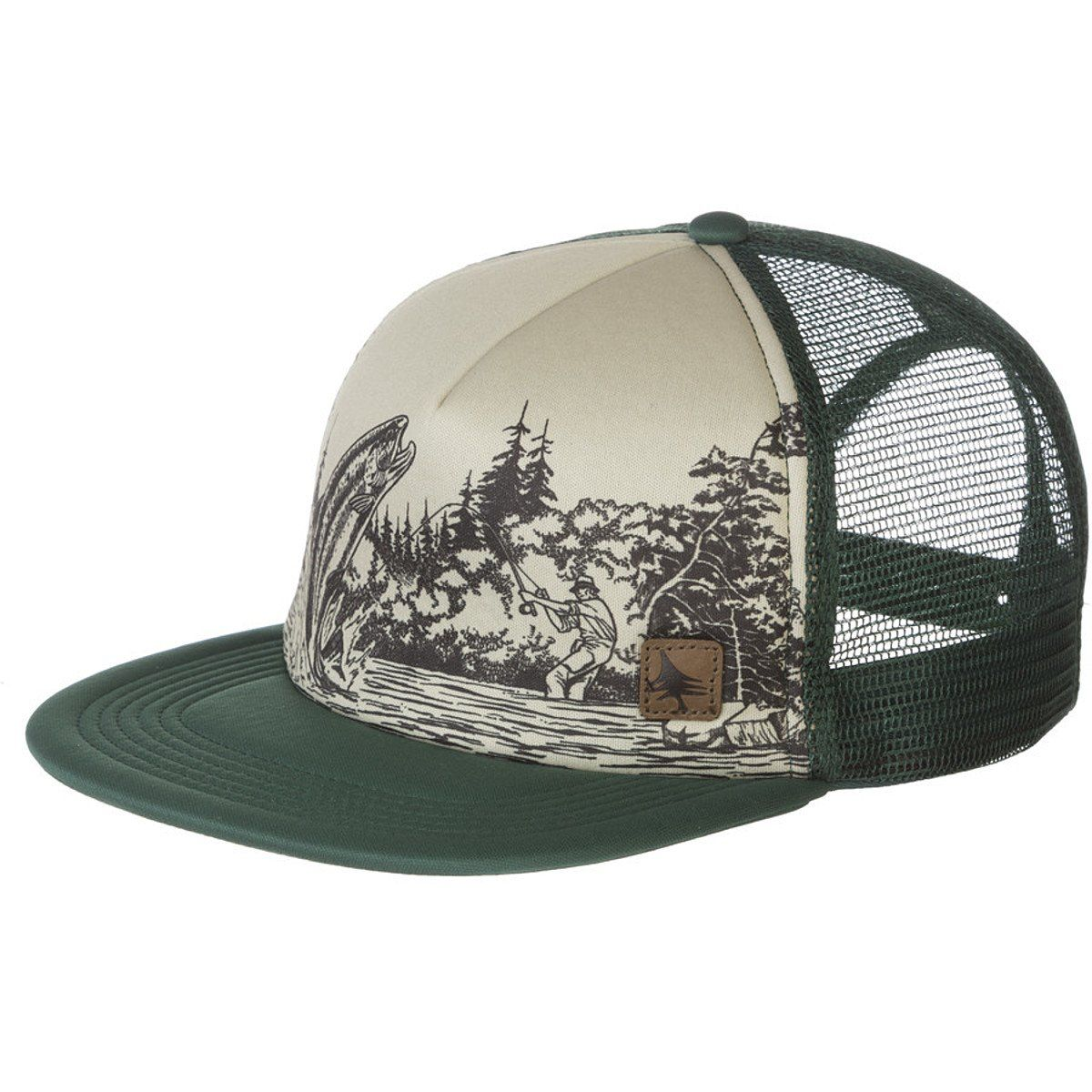60457287e90 Hippy Tree Trout Hat Forest