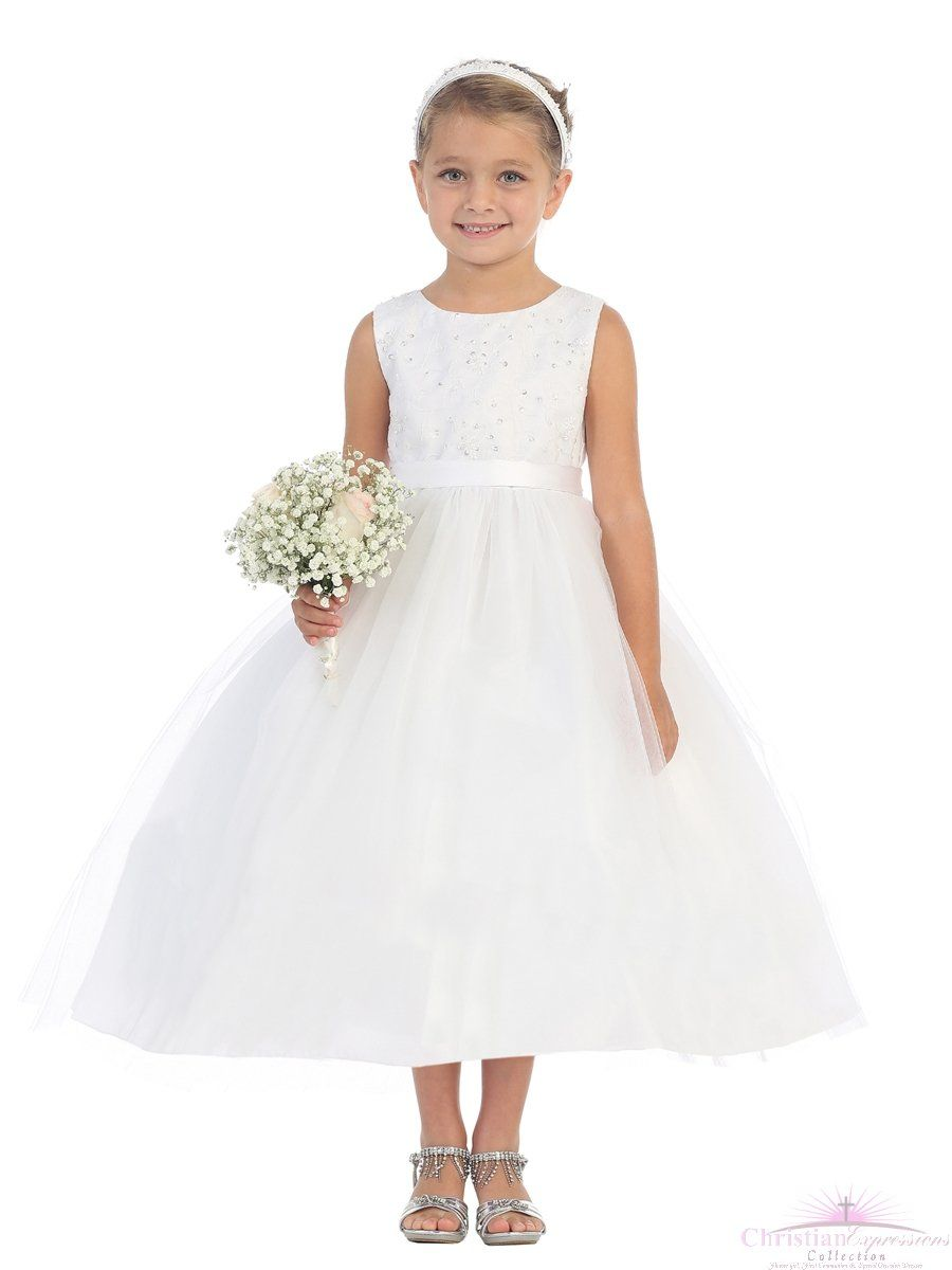 Communion Dresses with Beading