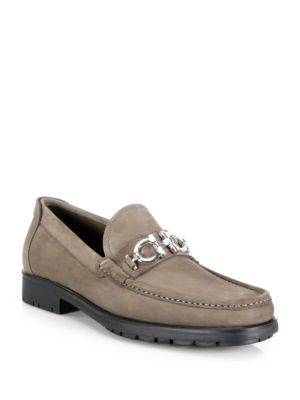 52e9d0cf351 SALVATORE FERRAGAMO Master Nubuck Bit Loafers.  salvatoreferragamo  shoes   flats