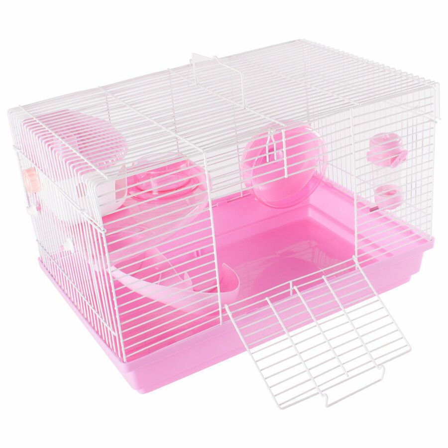 Details About Pet Animal Hamster Cage Feeding Habitat Portable Gerbils Mice Home Mouse House Pet Mice Pet Home Gerbil