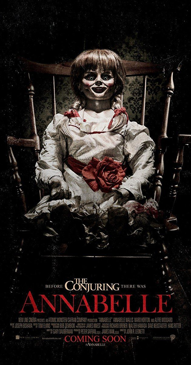 Annabelle (2014) IMDb Horror movie posters, Movie