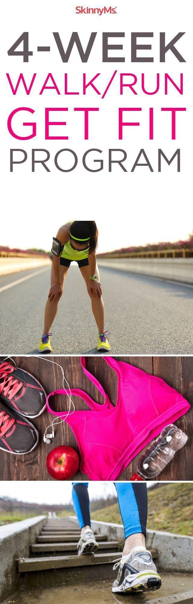 4-Week WalkRun Get Fit Program