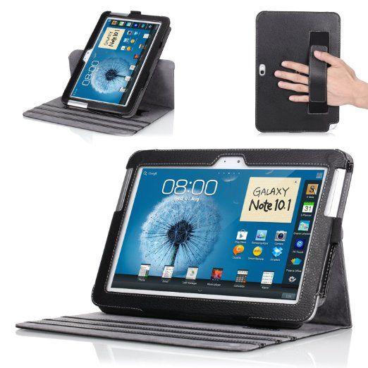Amazon Com Moko Tm 360 Degree Rotatory Detachable Cover Case For Samsung Galaxy Note 10 1 N8000 N8010 N8013 Tabl Galaxy Note 10 Samsung Galaxy Note 10 Things