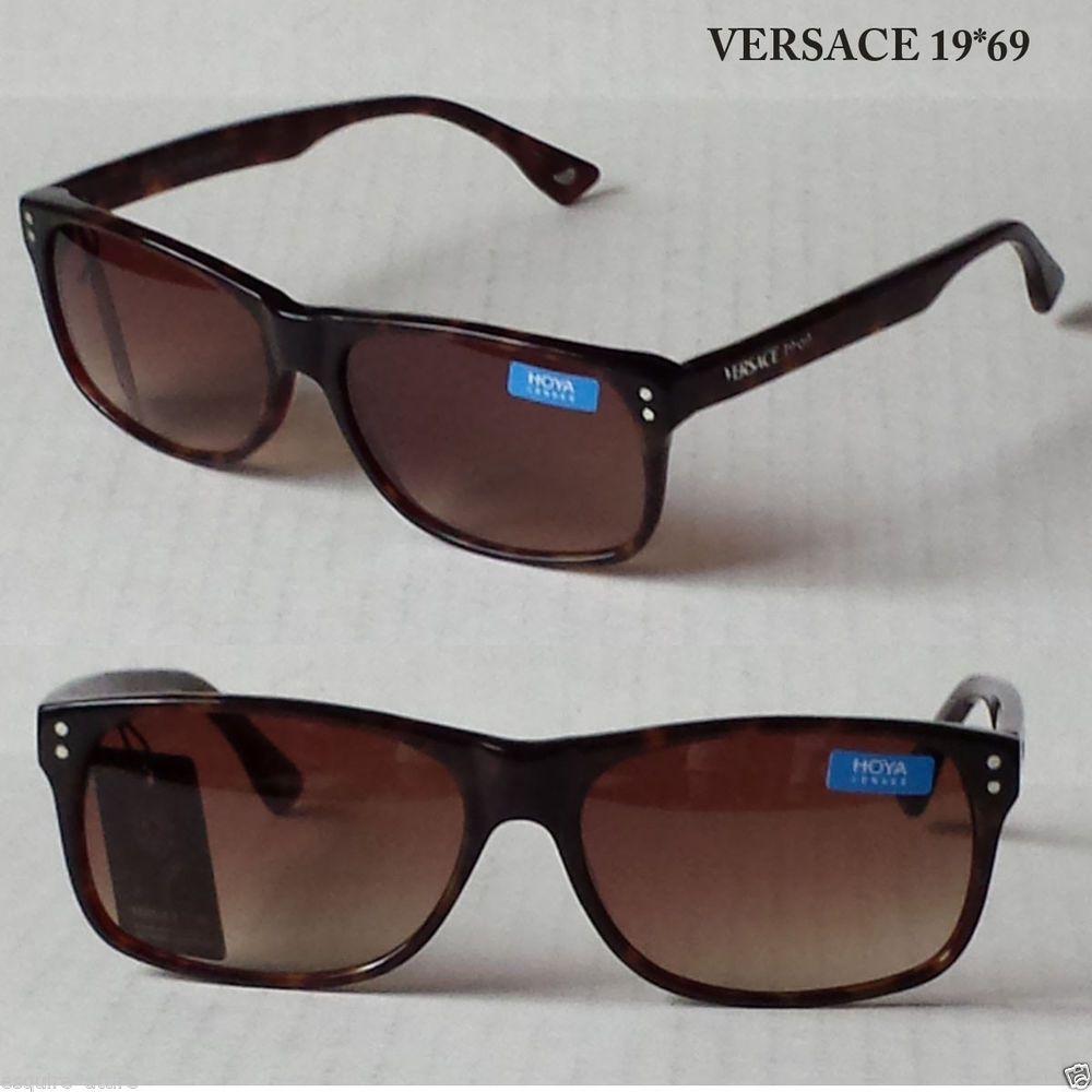 acdb979f6dd7 Versace 19.69 Abbigliamento Sportivo Sunglasses rectangular brown V8009  (case)  Versace1969AbbigliamentoSportivo  Rectangular